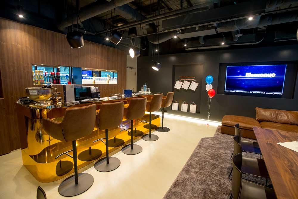 KRECKLER Club Lounge in der SAP Arena