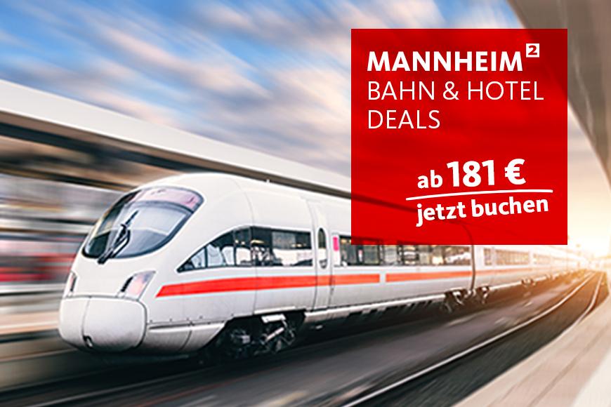 Bahn & Hotel Deals, Mannheim
