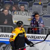 Eishockeylaenderspiel GER VS USA