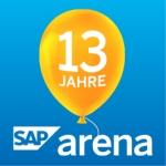 Happy Birthday SAP Arena
