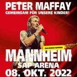 """""""Peter Maffay & Band – Gemeinsam für unsere Kinder"""": Verlegung auf den 08. Oktober 2022"""