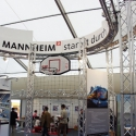 Mannheim Arena präsentiert sich gemeinsam mit der MVV auf dem Maimarkt