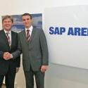 SAP und Arena Mannheim vereinbaren umfassenden Sponsoringvertrag