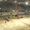Arena-Arbeiten weiter im Zeitplan - Die ersten Top-Events in der SAP ARENA