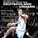 Spitzenhandball in der SAP ARENA - Letzter Test für Deutschland vor der Europameisterschaft