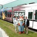 Premiere: SAP ARENA auf einer Mannheimer Stadtbahn!