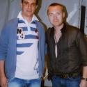 Daniel Hopp meets Ronan Keating - Irischer Superstar spielt sich für Arena-Eröffnung warm