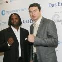 Wladimir Klitschko und Chris Byrd zu Gast in der SAP ARENA