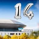 Let's celebrate: 14 Jahre SAP Arena