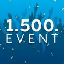 Gewinnspiel: Wir feiern unser 1.500. Event