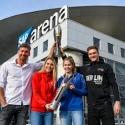 DVV-Pokalfinale: Pressebrunch in der SAP Arena