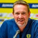 Löwen:  Pressekonferenz mit neuem Trainer
