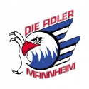 DEL: Adler Mannheim vs. Thomas Sabo Ice Tigers