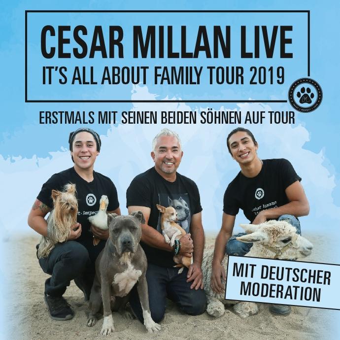 Cesar Millan Tour 2019