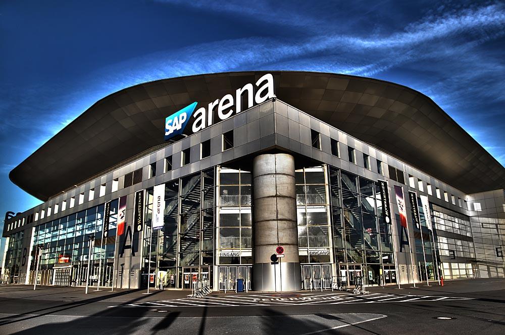 Parkplatz Sap Arena