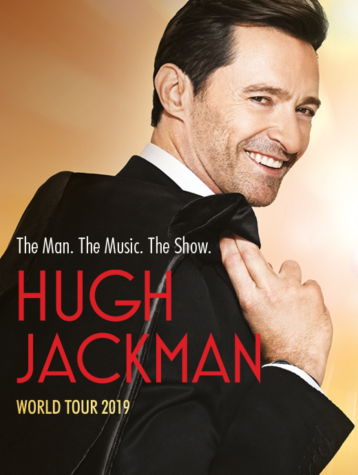 Ruby VIP Package - Hugh Jackman: The Man. The Music. The Show